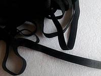 Резинка бретелечная 10мм, 15мм, 20мм/46м черный, ширина (см) =