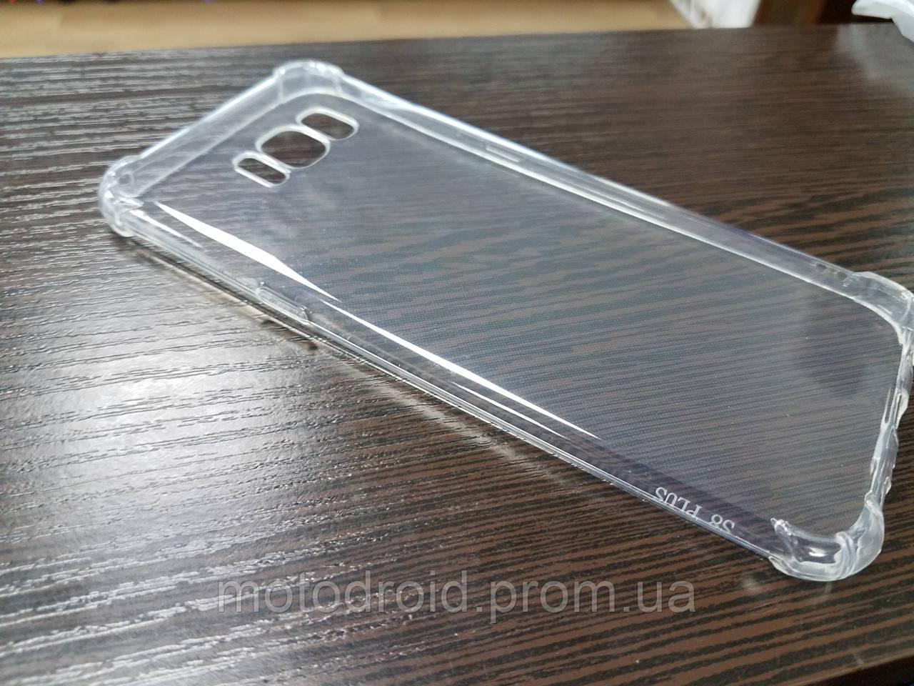 Чохол для Samsung Galaxy S8 Plus  прозорий силікон