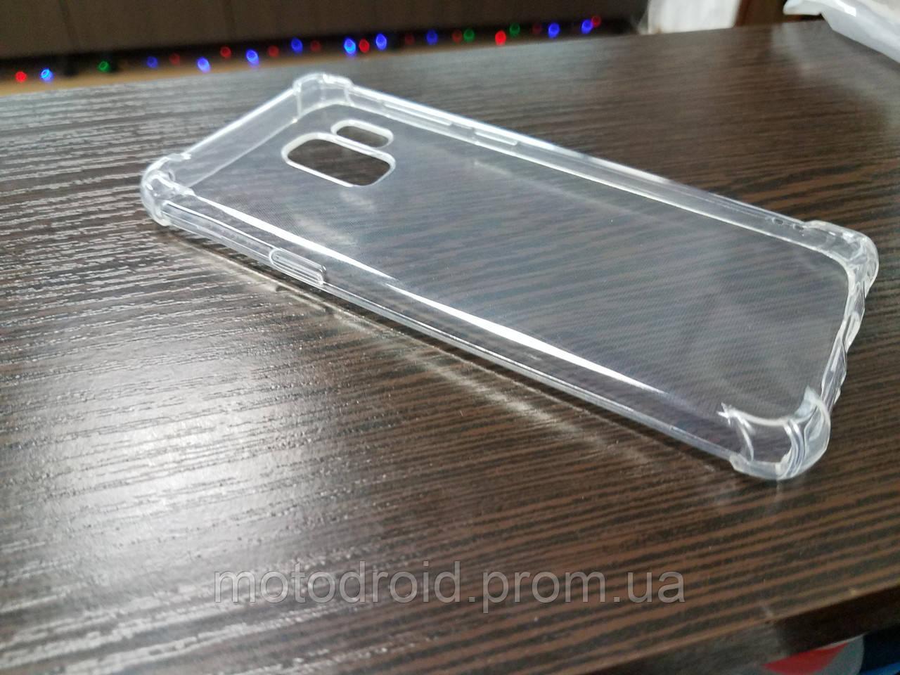 Чохол для Samsung Galaxy S9 прозорий силікон