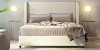 Мягкая кровать Леон с механизмом подъёма