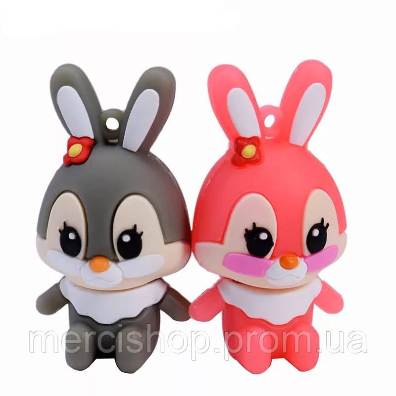 """Флешка """"Кролик"""" (цвет:розовый) 32 Гб"""