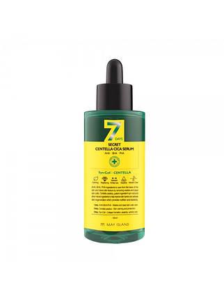 Обновляющая сыворотка для проблемной кожи May Island 7 Days Secret Centella Cica Serum AHA/BHA/PHA, 50 мл, фото 2