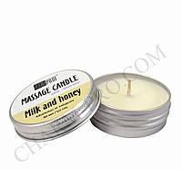 Массажная ароматическая свеча Andi Prof (30мл) Milk and honey