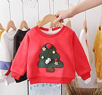 Детский зимний свитер