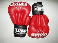 LEADER  Перчатки для рукопашного боя тип 1 / кожа цветная