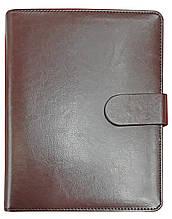 Ежедневник-органайзер А-5, 2425, Чёрный Шоколад, 90 листов, 80 гр, линия, магнитная застёжка, недатированнный