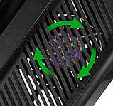 Подставка охлаждающая, зарядная станция для игровой консоли Playstation 4 PS4 slim и 2-х джойстиков, фото 5