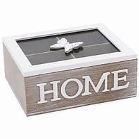 Коробка - шкатулка для хранения чая и сладостей