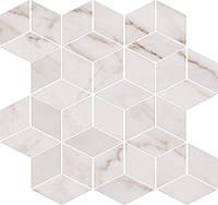 Opoczno Carrara Mosaic White 28x29.7