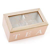 Коробка для хранения чая и сахара 16 х 9 см