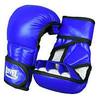 REYVEL Перчатки рукопашные / кожа / Синий размер L
