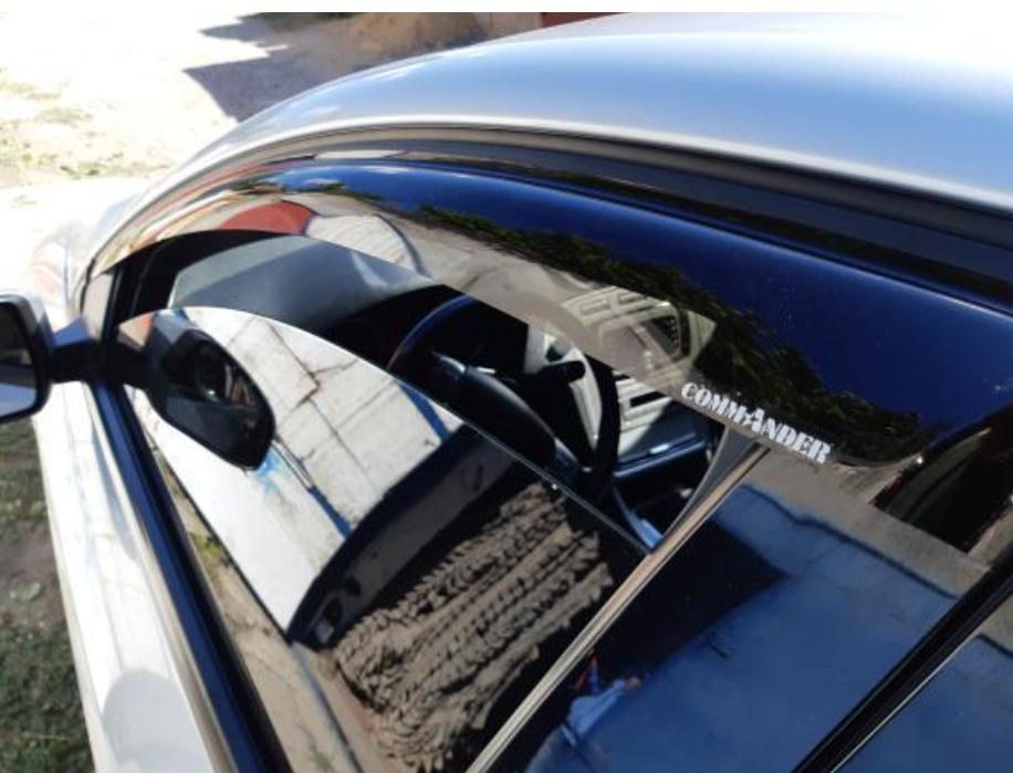 "Ветровики на Acura ZDX 2009-2013 ""Cobra Tuning"""