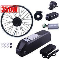 Повний Електро набір для велосипеда MXUS 350w акб 10Ач, Pas, газ, контроллер