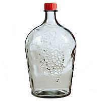 Бутылка стеклянная 4,5 л «Ровоам»