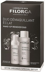 Набор Filorga DUO  Мицеллярный лосьон Clean-Perfect 400 мл + Очищающий мусс 150 мл