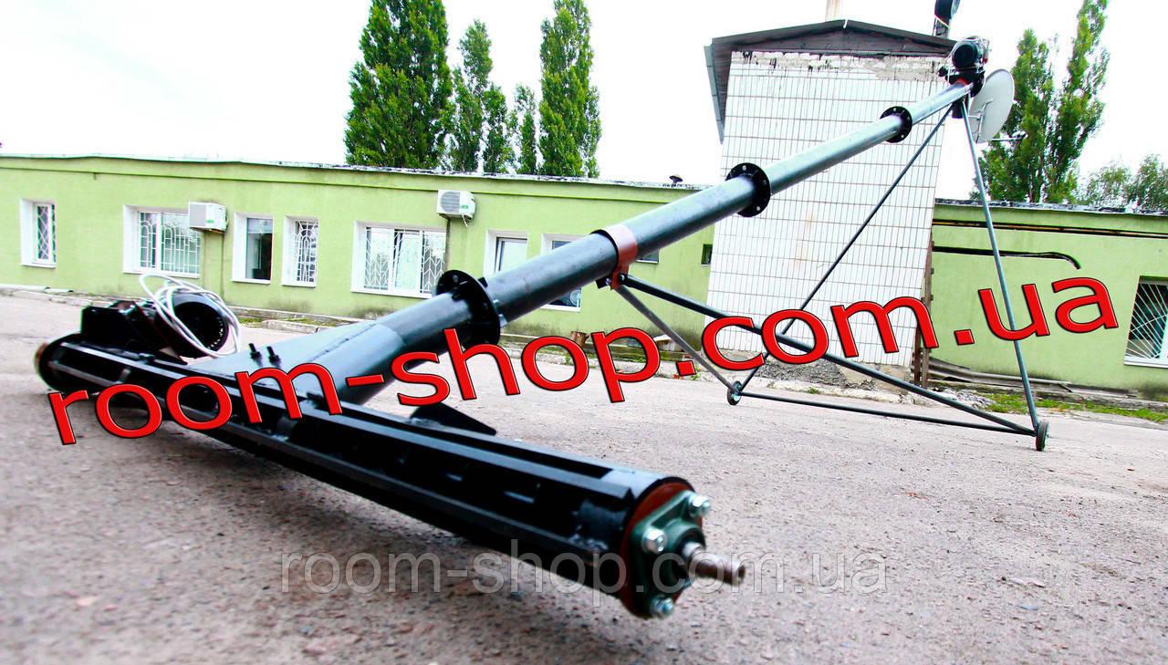 Шнековий транспортер з підбирачем (підберач) діаметром 159 мм довжиною 4 метри