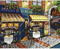 Холст-розмальовка по номерам Ресторан у Парижі 40*50