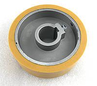Ролик подающий 140X35x50 мм покрытие резина, фото 1