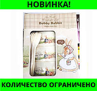 Набор детских тарелок Bobby Rabbit Wonderful Life МАЛЫЙ!Розница и Опт