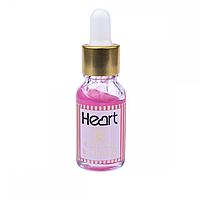 Гель кислотный для удаления кутикул HEART Cuticle Remover 15ml Розовый