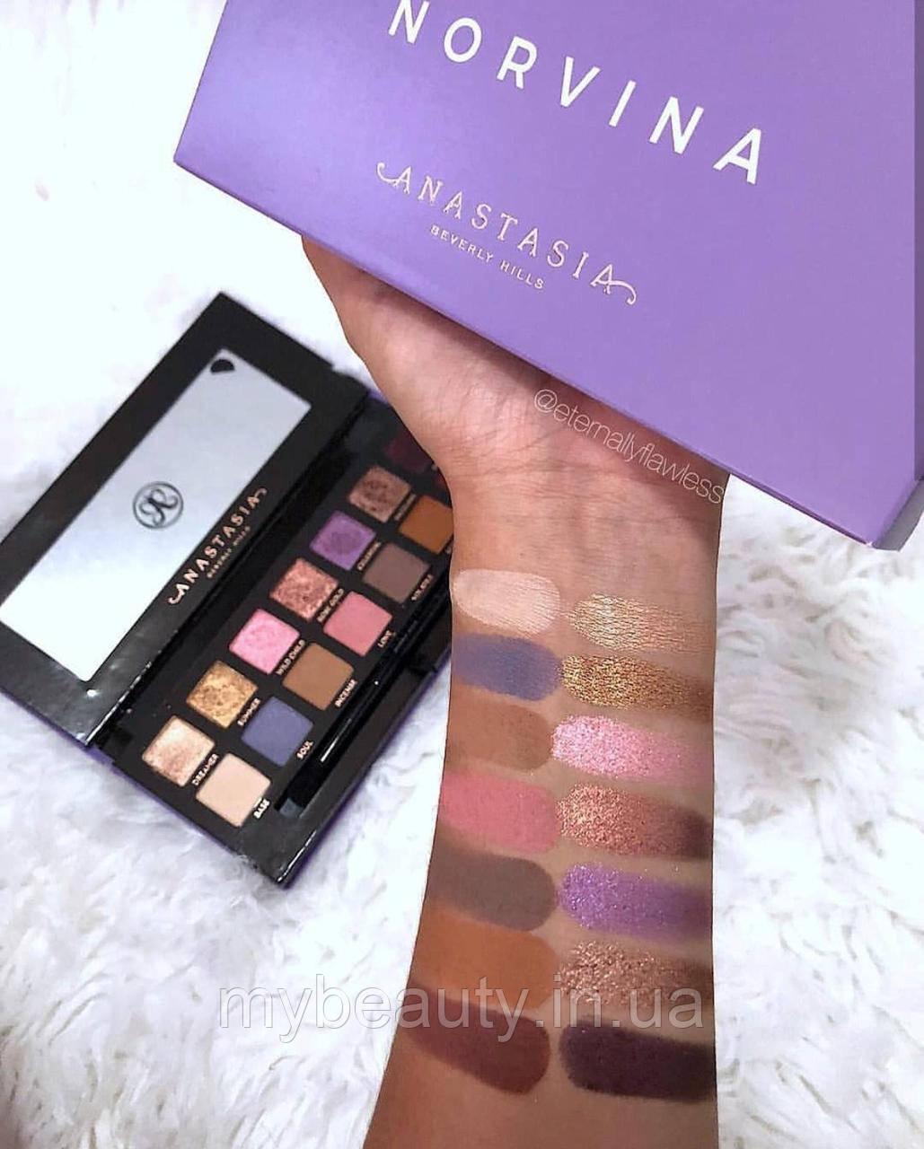 Тени для век Anastasia Beverly Hills Norvina Eye Shadow Palette (реплика)