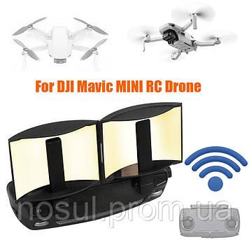 Усилитель сигнала параболический отражатель пульта ДУ квадро коптер DJI Mavic Mini / Pro / Mavic 2 / Air / Spa