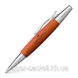 Ручка шариковая Faber-Castell E-motion Pearwood Brown, корпус древесина груши, 148382