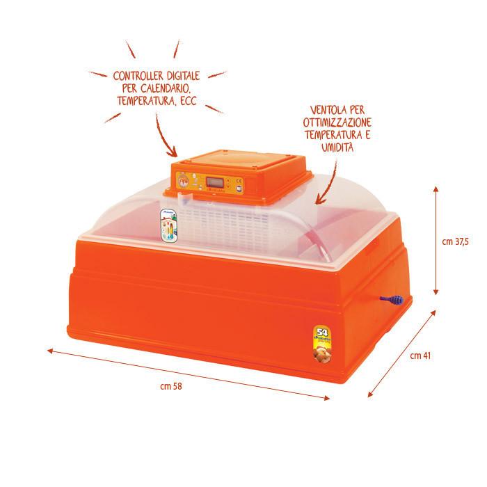 Novital Covatutto 54 Digitale Automatica инкубатор с автоматическим переворотом яиц
