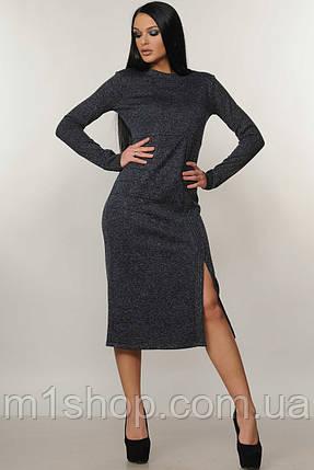 Женское платье-миди с люрексом (Тина ri), фото 2