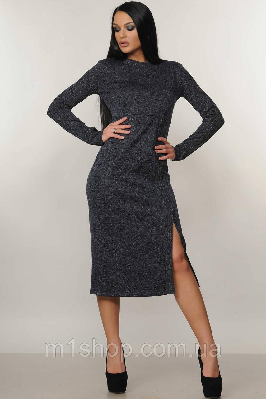 Женское платье-миди с люрексом (Тина ri)