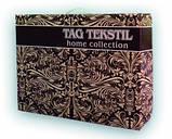 Евро комплект постельного белья Graphite страйп-сатин (Наволочки 4 шт) ТМ TAG, фото 2