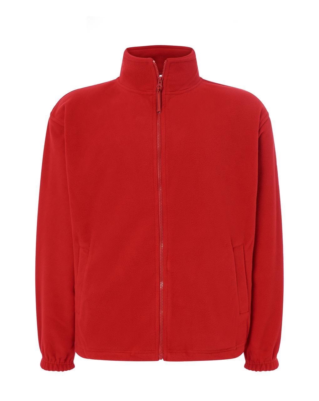 Мужская флисовая кофта JHK POLAR FLEECE MAN цвет красный S