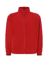 Мужская флисовая кофта JHK POLAR FLEECE MAN цвет красный
