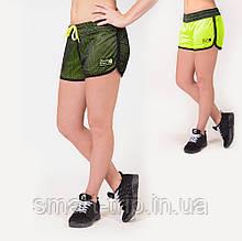 Двухсторонние шорты женские Gorilla Wear Madison XS черный/зеленый 9191390400