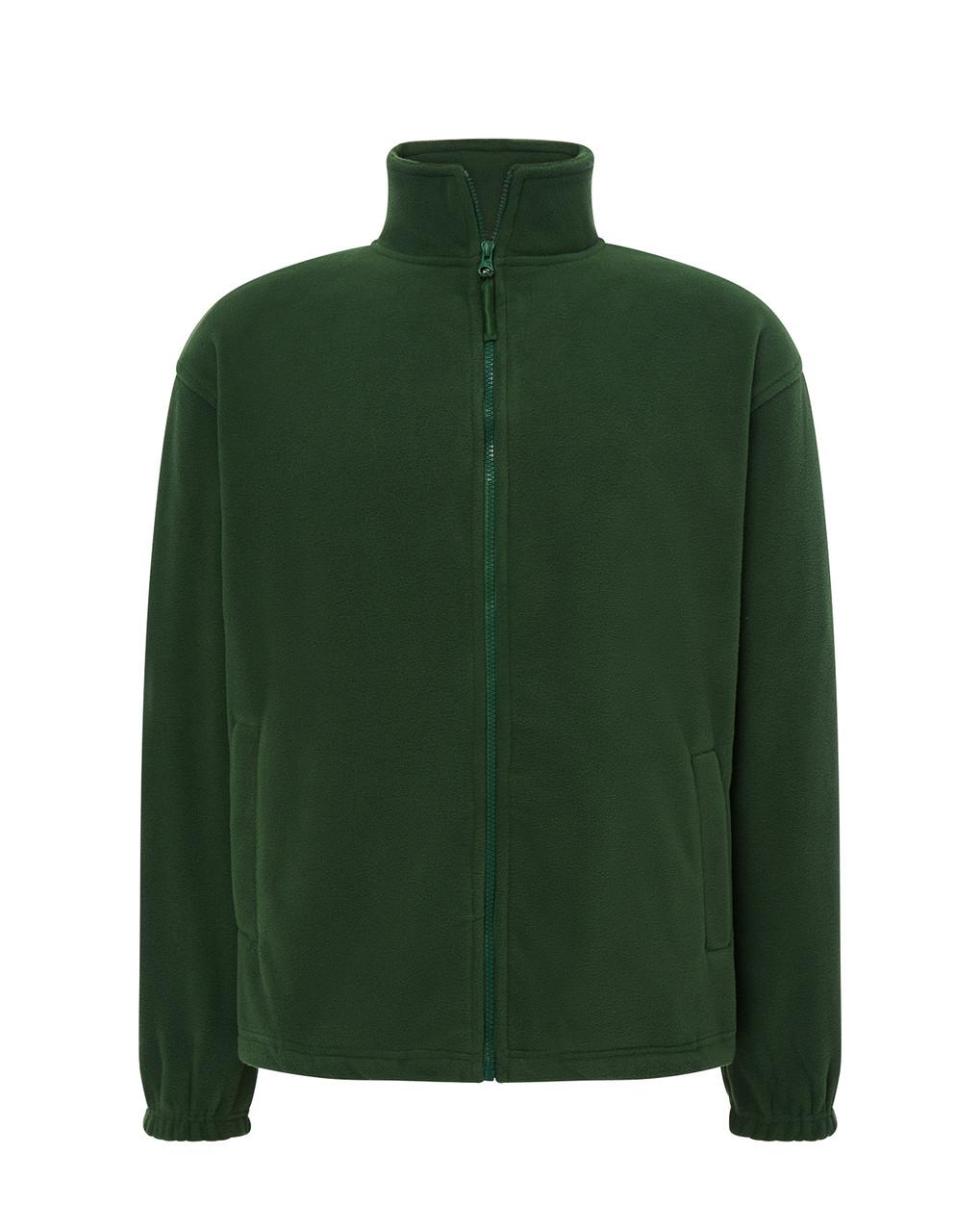 Мужская флисовая кофта JHK POLAR FLEECE MAN цвет темно-зеленый
