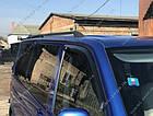Рейлинги на крышу Volkswagen T5 2003-2015, черные, фото 4