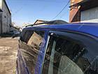 Рейлинги на крышу Volkswagen T5 2003-2015, черные, фото 5