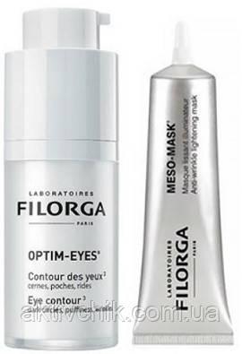 Набор Filorga Optim-Eyes Средство для контур глаз 15 мл + Filorga Meso-Masque 30 мл