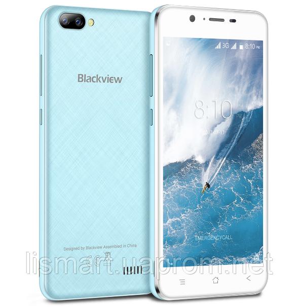 Смартфон Blackview A7 Blue + силиконовый чехолНет в наличии