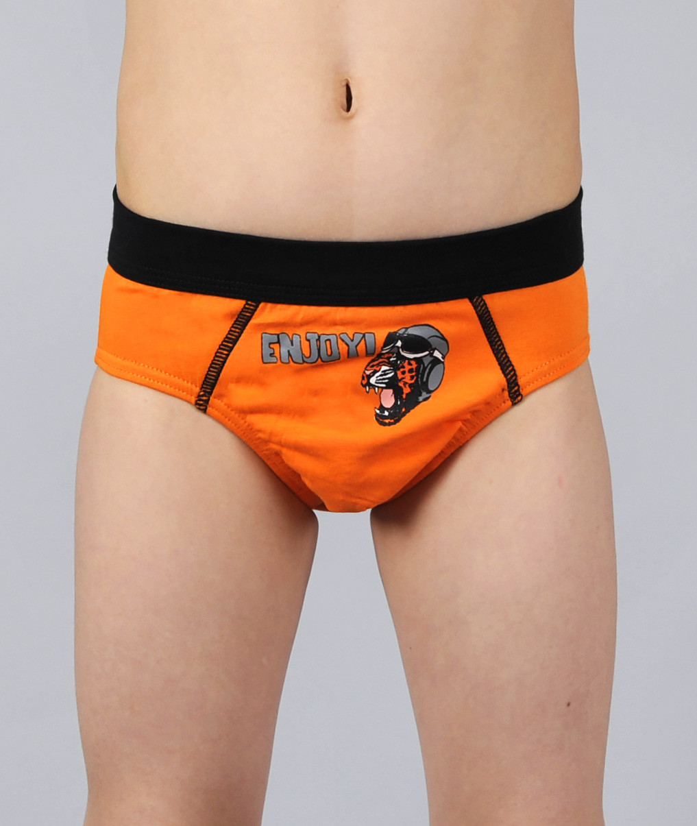 Трусы для мальчика  Altedo #104 122 см оранжевые