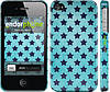 "Чехол на iPhone 4 Звезды v2 ""2862c-15"""