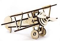 Дерев'яний 3Д пазл Літак, ДРЛ107-4, фото 1