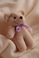 Декоративный коричневый Мишка Биг  с фетра