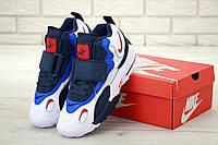 Мужские кроссовки Nike Air Max Speed Turf в бело-синем цвете