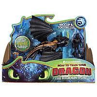 Набор фигурок Дракон Беззубик с икингом Как приручить дракона 3 DreamWorks Dragons