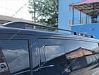 Рейлинги на крышу Volkswagen T5 2003-2015 цельно-алюминиевые, фото 2