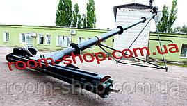 Конвейер шнековый (погрузчик) с подборщиком   диаметром 159 мм длиною 6 метров, фото 3