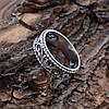 Серебряное кольцо Тиамо вес 2.85 г размер 18, фото 2