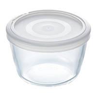 Форма PYREX Cook&Freez, 15х9 см с крышкой  стекло круглая  (1.1л)