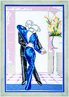 """Набор для вышивания Чарівна Мить М-197 """"Танец в большом городе"""""""